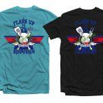 Flaps-Up-Tshirts