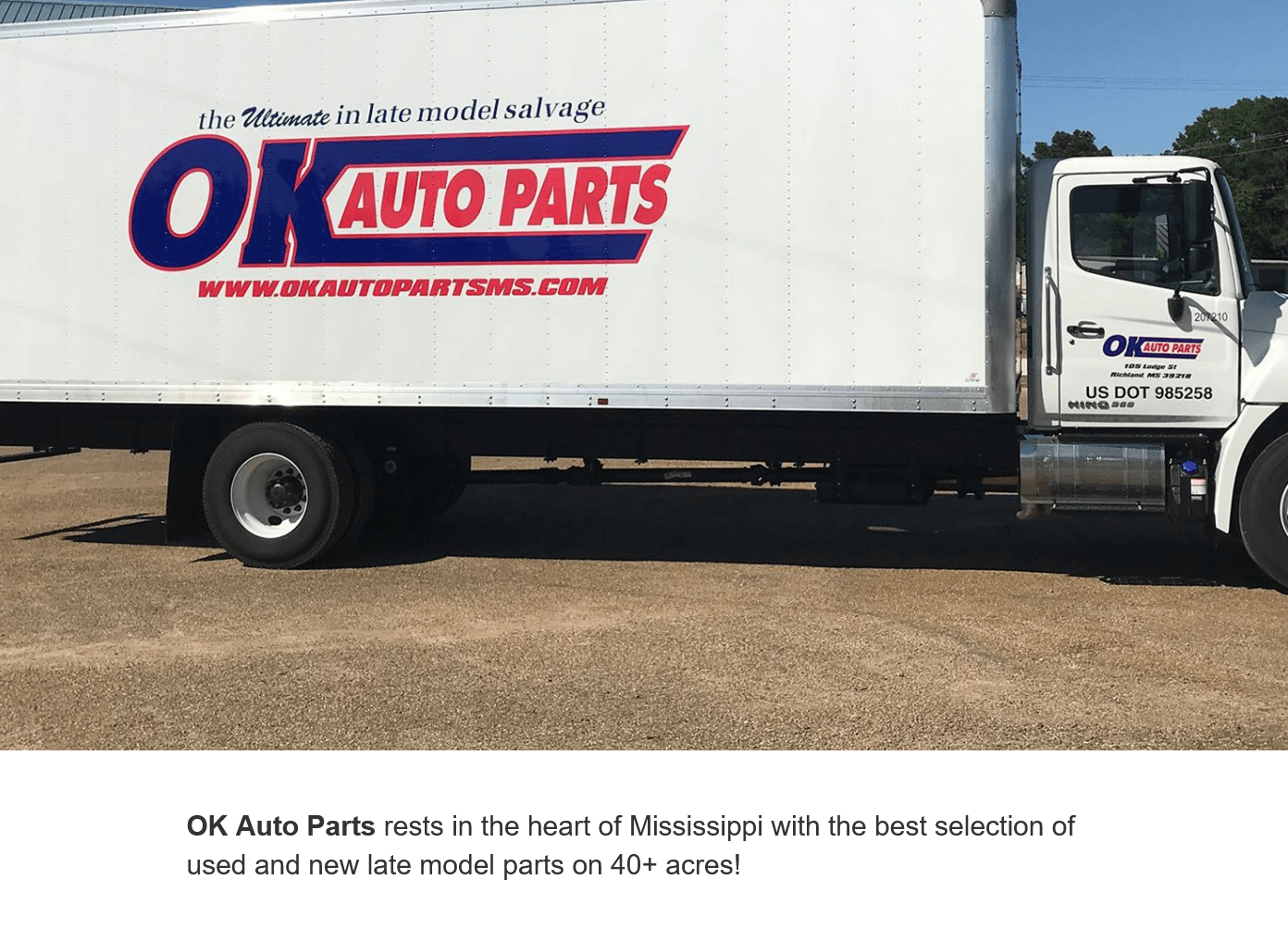 OK Auto Parts Mississippi – In Business Since 1957
